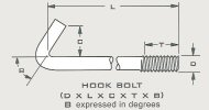 Hook Bolts V-Bend